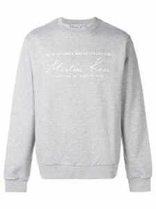 Martine Rose oversized fit sweatshirt - Grey