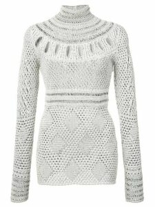 Proenza Schouler Crochet crew neck - White