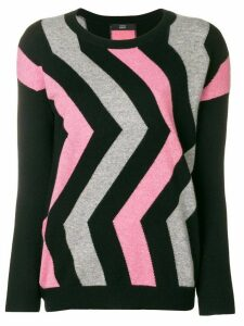 Steffen Schraut geometric sweater - Black