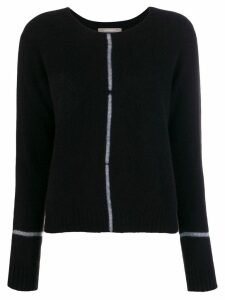Suzusan knit sweater - Black