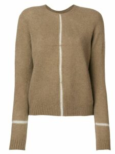 Suzusan knit sweater - Neutrals