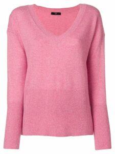 Steffen Schraut v neck sweater - Pink