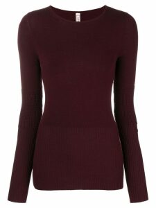 Antonio Marras crew neck jumper - Red