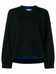 Paco Rabanne oversized sweater - Black