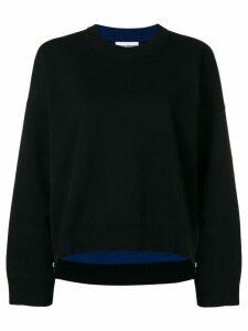 Paco Rabanne oversized sweater - Black