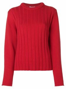 Chloé striped knit sweater - Red