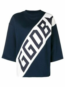 Golden Goose logo sweater - Blue