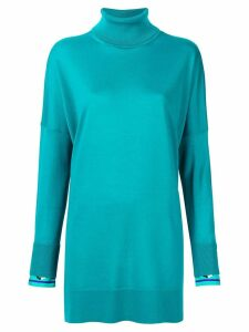 Emilio Pucci loose knit sweater - Blue