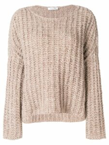 Valentino chunky knit jumper - Neutrals