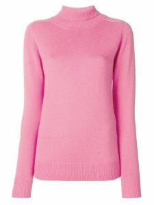 Victoria Beckham cashmere roll neck jumper - Pink