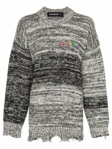 Filles A Papa West Oversized Sweater - Black