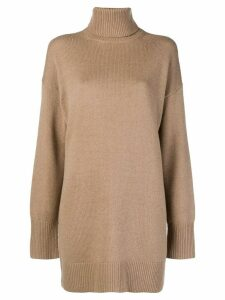 Joseph turtleneck oversized sweater - Brown