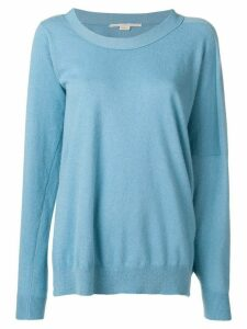 Stella McCartney asymmetric loose-fit sweater - Blue