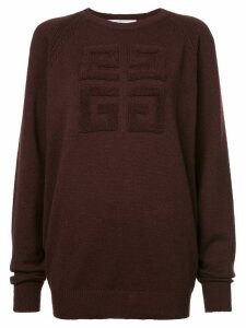 Givenchy 4G textured sweater - PINK