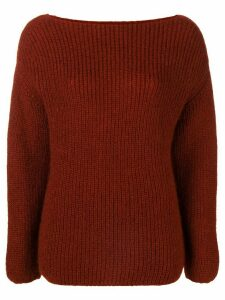 Forte Forte round neck jumper - Red