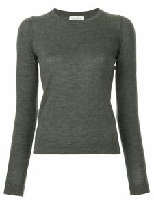 Le Kasha round neck jumper - Grey
