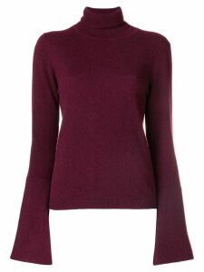 Antonia Zander turtleneck jumper - PINK