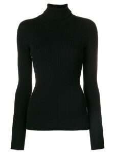 Dolce & Gabbana ribbed turtleneck jumper - Black