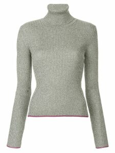 Marco De Vincenzo roll-neck knit jumper - Metallic