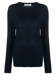 Jil Sander loose fitted sweater - Blue