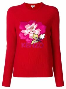 Kenzo Indonesian Flower jumper - Red