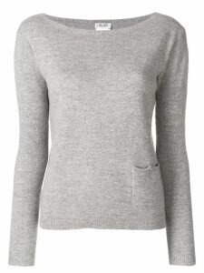 LIU JO single pocket sweater - Grey