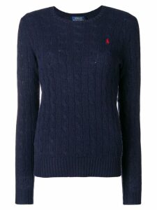Polo Ralph Lauren classic cable-knit sweater - Blue