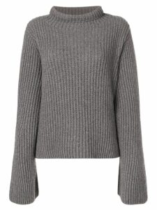Stella McCartney slouchy ribbed knit sweater - Grey