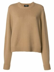 Dsquared2 drop shoulder jumper - NEUTRALS