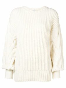 P.A.R.O.S.H. cable knit jumper - White
