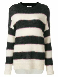Isabel Marant Étoile Reece striped sweater - Black
