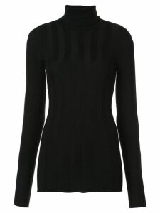 Derek Lam Inez Long Sleeve Turtleneck - Black