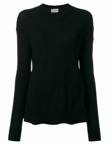 Moncler round neck top - Black