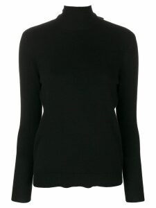 Cashmere In Love cashmere Vera bow tie jumper - Black