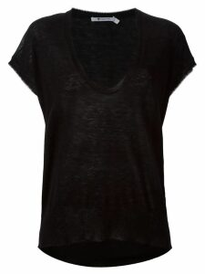 Alexander Wang knit scoop neck top - Black