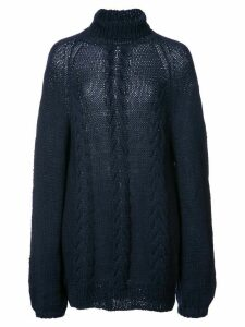 Voz turtleneck knitted top - Blue