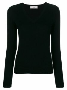 Pringle Of Scotland V-neck fitted sweater - Black