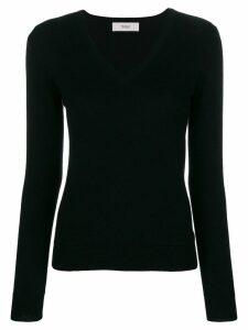 Pringle of Scotland V-neck fitted sweater - Black