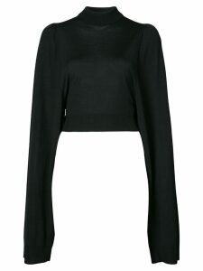 Vera Wang classic long-sleeve sweater - Black