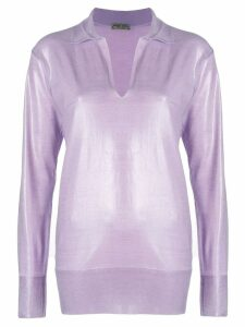 Bottega Veneta lilac wool sweater - Pink