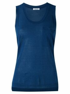 P.A.R.O.S.H. knitted tank top - Blue