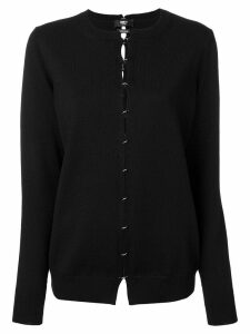 Yang Li cut out jumper - Black