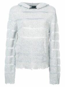 RtA cashmere hoodie - Grey