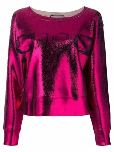 Gucci printed top - Metallic