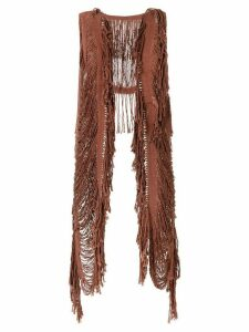 Caravana Yaax Col knitted top - Brown