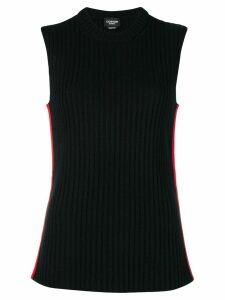 Calvin Klein 205W39nyc ribbed-knit top - Black