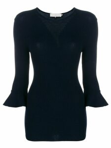 L'Autre Chose perfectly fitted sweater - Blue