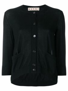 Marni chic design cardigan - Black