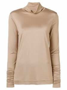 Joseph turtleneck top - NEUTRALS