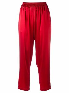 Gianluca Capannolo cropped trousers - Red